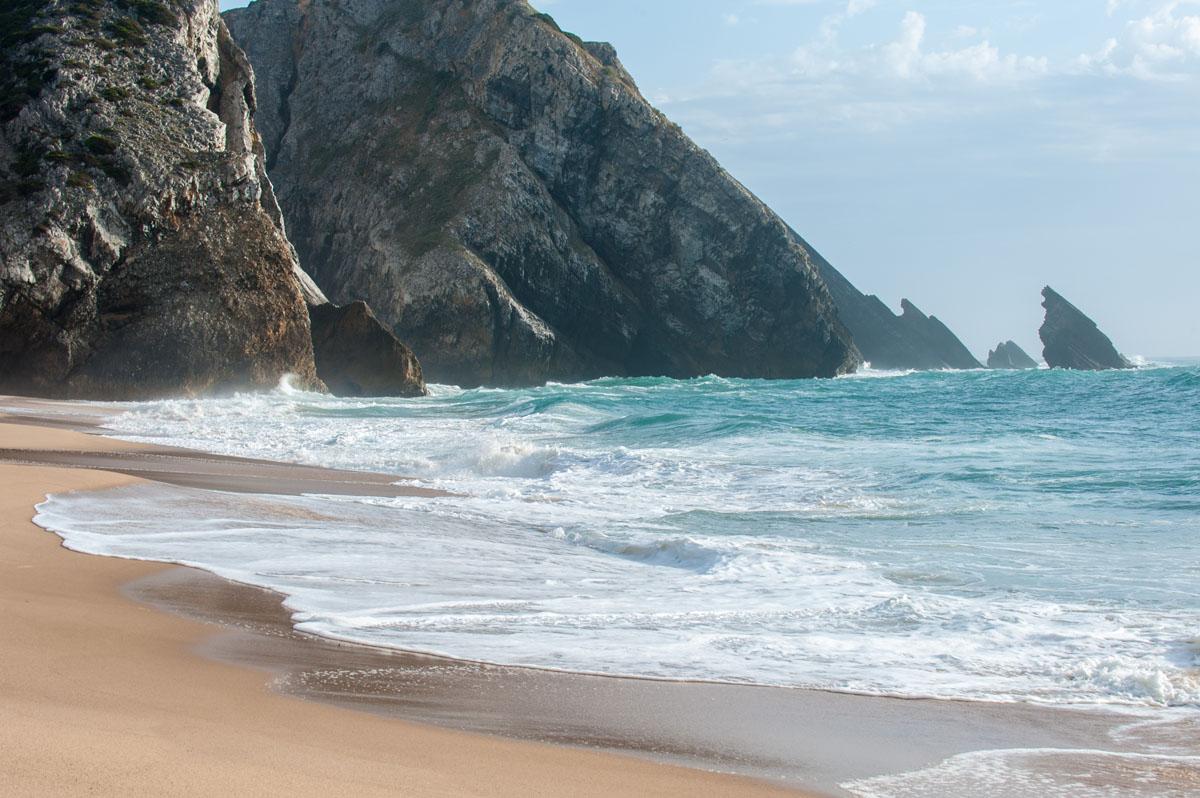 Adraga Strand